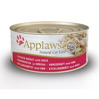 Kattfoder Applaws konserv Chicken & Duck