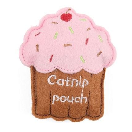 Kattleksak Catnip Cupcake