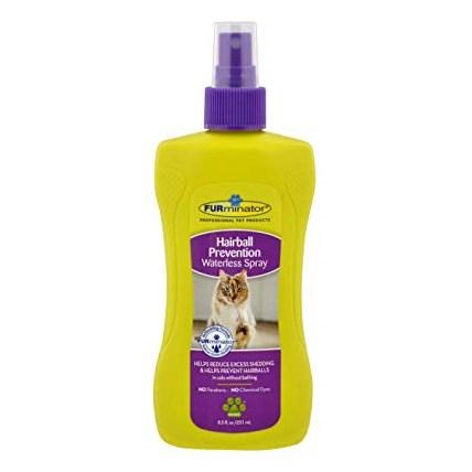 FURminator Waterless Hairball Prevention Spray