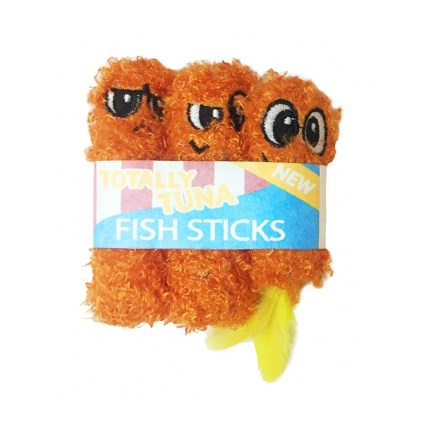 Kattleksak Petstages Fish Sticks 3 pack