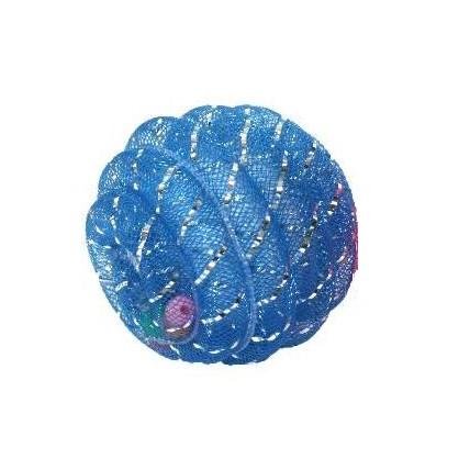 Kattleksak Glitterboll med liten kula Blå