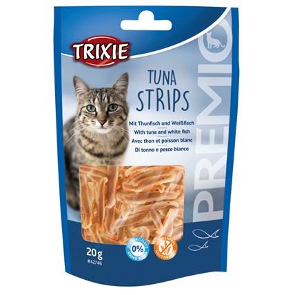 Kattgodis Premio Tuna Strips