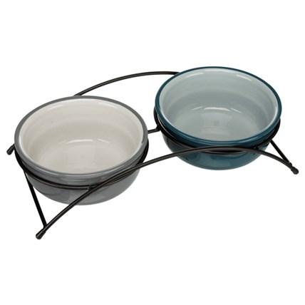 Keramik matbar Grå 2 × 0.25 l