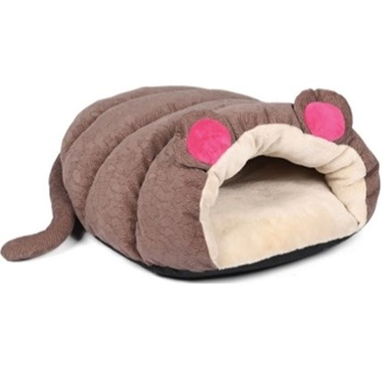 Kattbädd Hugs Muffin mouse brun
