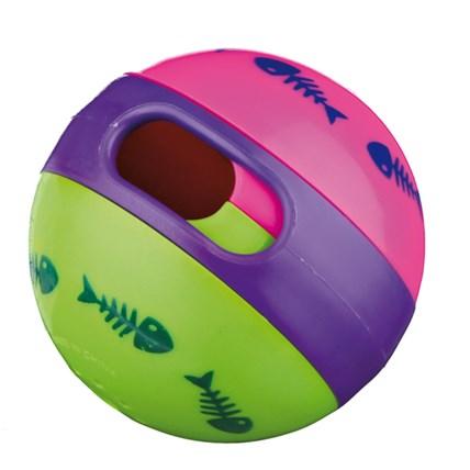 Kattleksak 3 Färgad Snackball