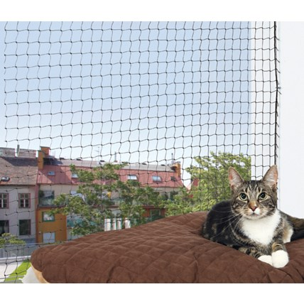 Trixie Kattnät Svart 3x2 m