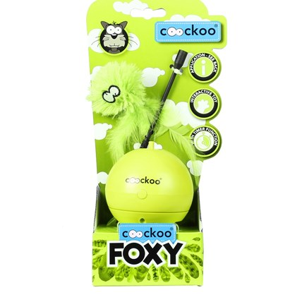 Aktiveringsleksak Coockoo Foxy Lime
