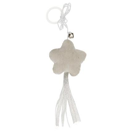 Kattleksak Blomma med fransar och rep