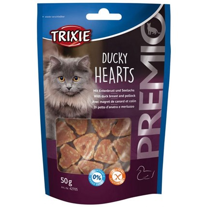 Kattgodis Ducky Hearts