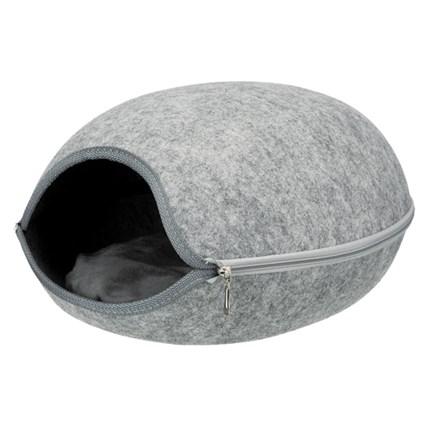 Kattigloo Luna filt ljusgrå