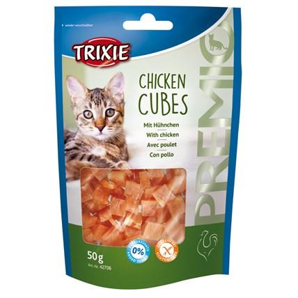 Kattgodis PREMIO Chicken Cubes