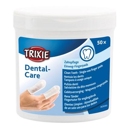 Fingerpads mint för Tandvård 50 st
