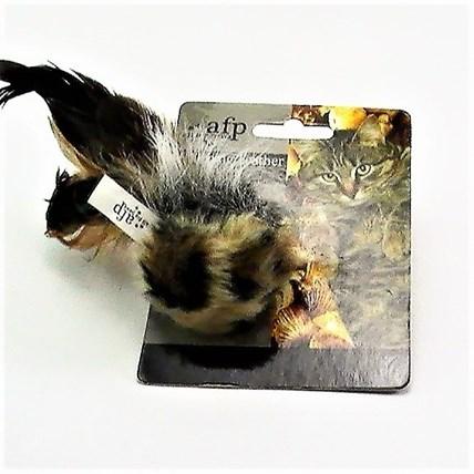 Kattleksak Afp Chirping Feather Bird Ball