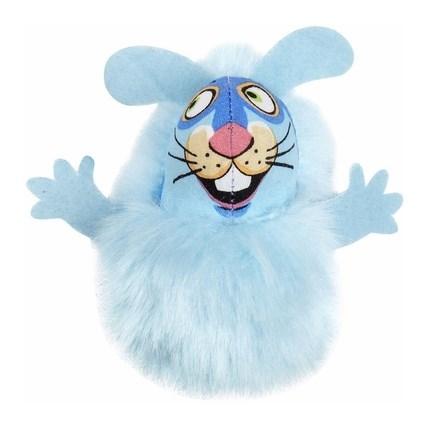 Fluff Bunnies kattleksak Blå