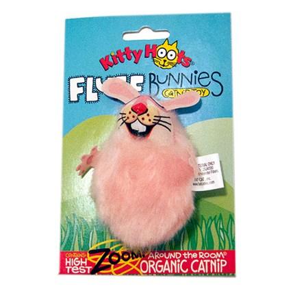 Fluff Bunnies kattleksak Rosa