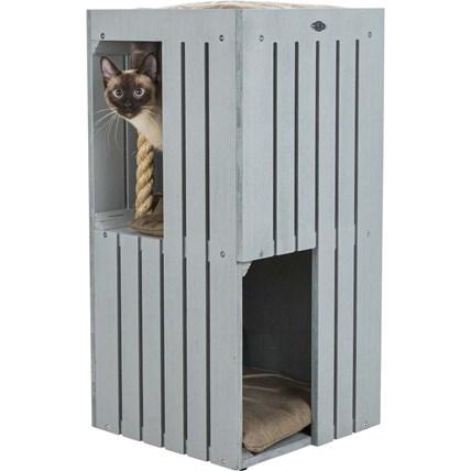 BE NORDIC Juna Cat-Tower Grå