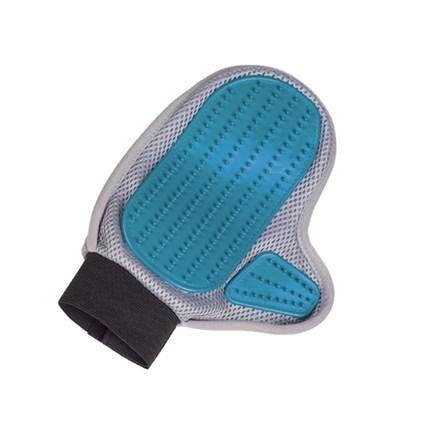 Trimhandske m. gummi & mikrofiber
