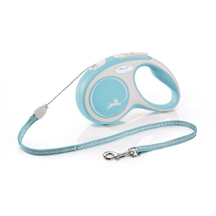 Flexi New Comfort 5 m ljusblå