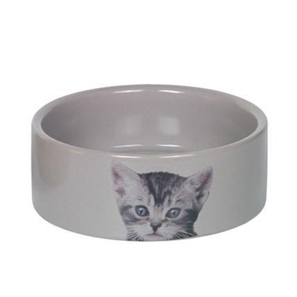 Keramikskål Cute Grå