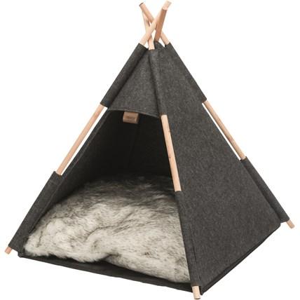 Katt tält Igloo Mörkgrå