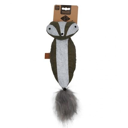 Kattleksak D&D Rocco Cuddle Skunk Grön/Vit