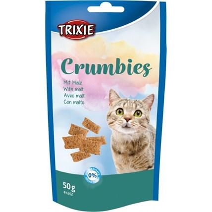 Kattgodis Crumbies med malt