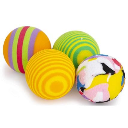 Kattleksak Boll flerfärgad Mix