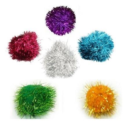 Kattleksak Glitterboll Mix