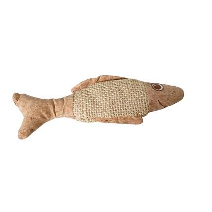 Kattleksak Stor fisk av kork