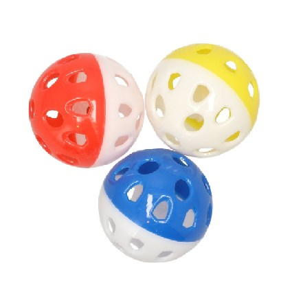 Kattleksak Dubbelfärgad boll
