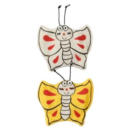 Kattleksaker Catoon Butterflies 2-pack