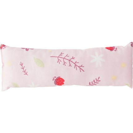 Kattleksak valerianakudde/rulle 25x8 cm mönstrad Rosa
