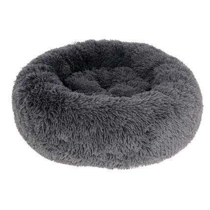 Kattbädd Snugly Fluffy Grå