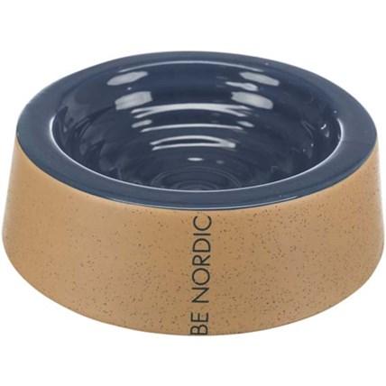 Keramikskål Be Nordic darkblue/beige