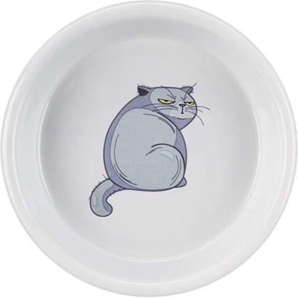 Skål Fat-Cat i keramik