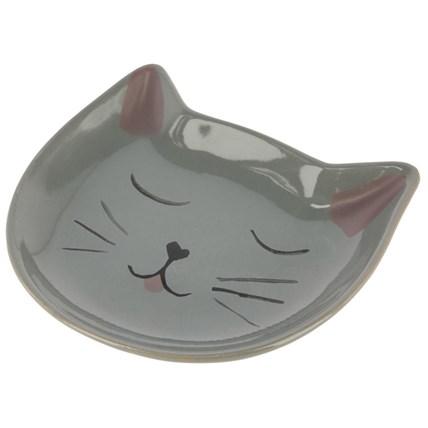 Keramikskål Tallrik grå