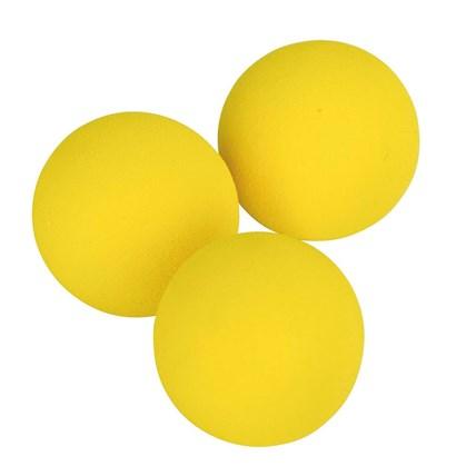 Kattleksaker Gula bollar 3-pack