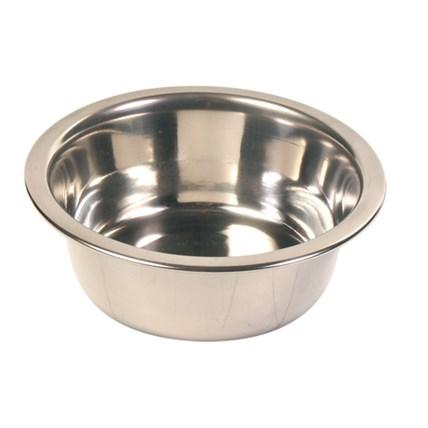 Matskål katt rostfri 24840